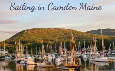 Sailing in Camden Maine
